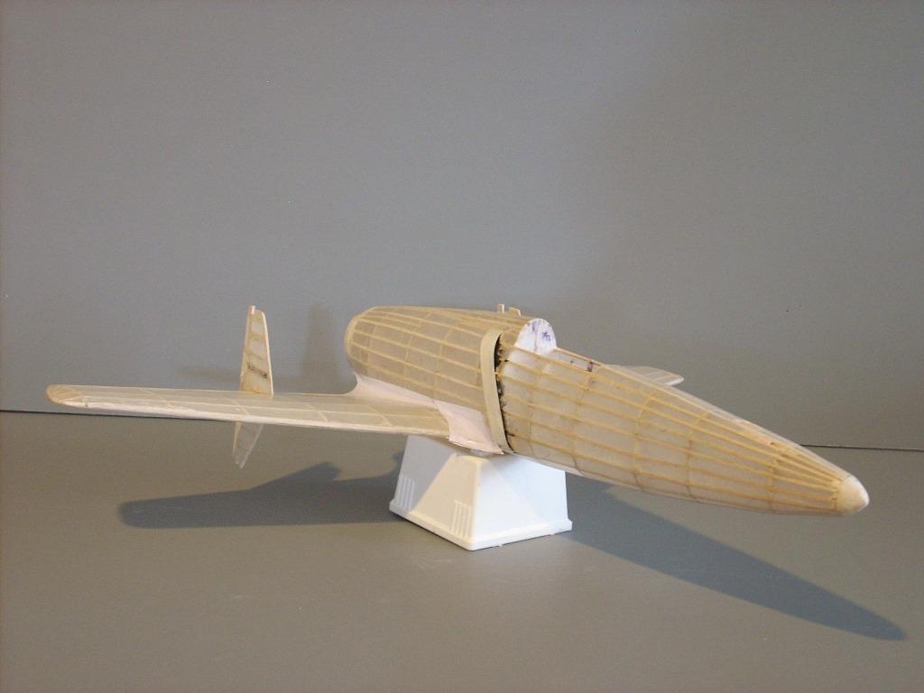 Virtual Aerodrome - Model Aircraft Gallery - Dave Diels Engineering, Inc Kit #10, Kyushu J7W1 ...